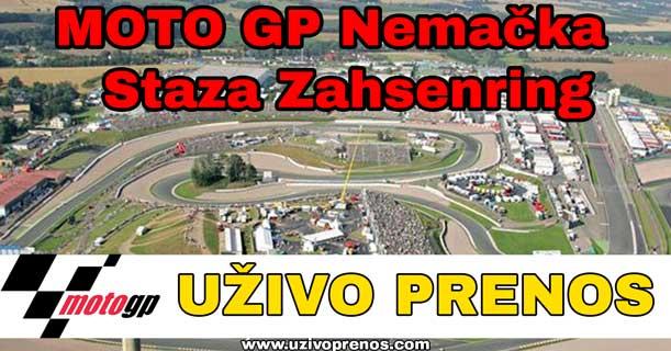 Moto GP trka na stazi Zahsenring uživo