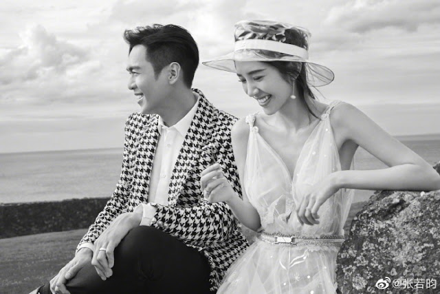 Zhang Ruoyun Tina Tang Yixin engagement photos