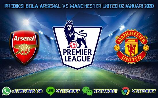 Prediksi Skor Arsenal vs Manchester United 02 Januari 2020