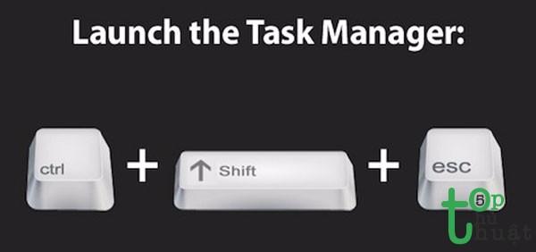 Mở nhanh Task Manage