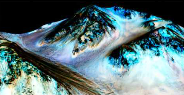 Misteri Dibalik Keberadaan Air di Mars