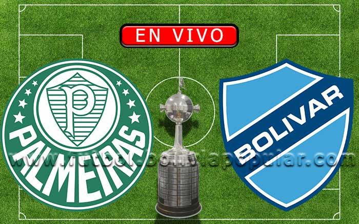 【En Vivo】Palmeiras vs. Bolívar vs.  - Copa Libertadores 2020