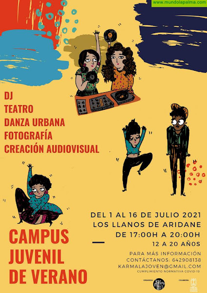 Ya están aquí los Campus de Verano infantil y juvenil que Karmala Joven oferta para La Palma