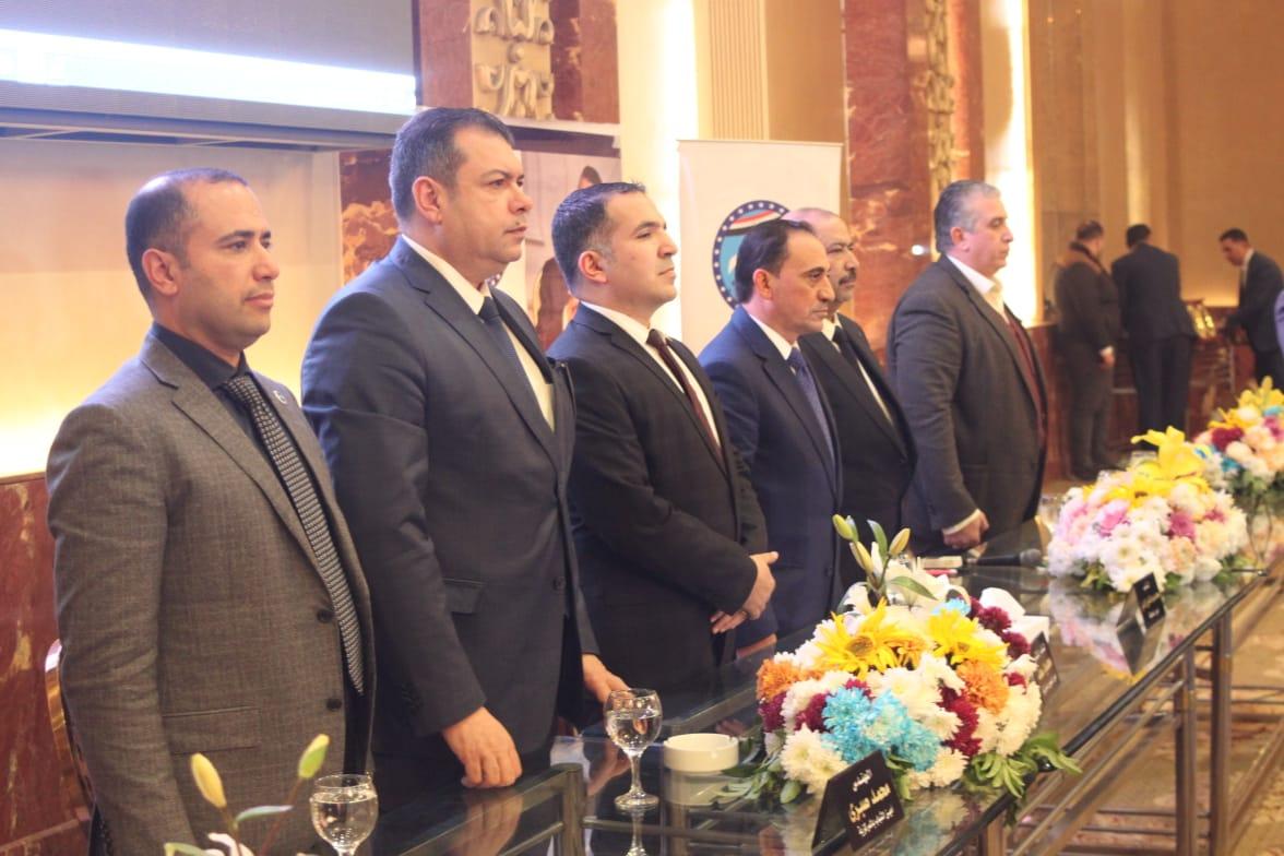 قطار جولات  أمانة المهنيين المركزية بمستقبل وطن بقيادة سعد نائب الشعب  يصل محطة البحيرة
