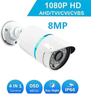 telecamera ahd 8mp 48led 3.6mm esterno