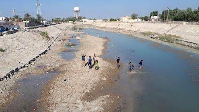 أزمة مياه خانقة في ديالى