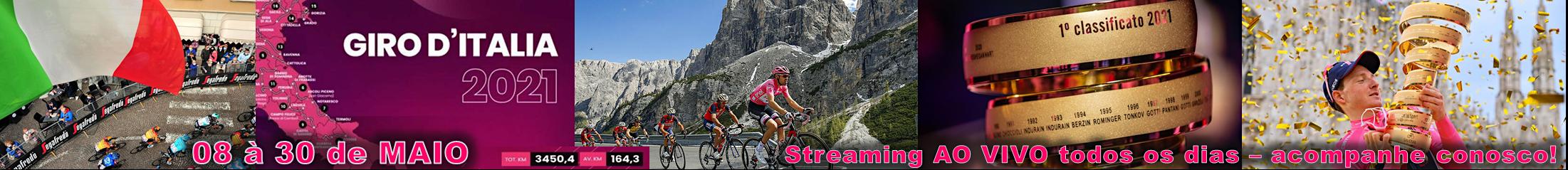 Banner Giro D'Italia 2021