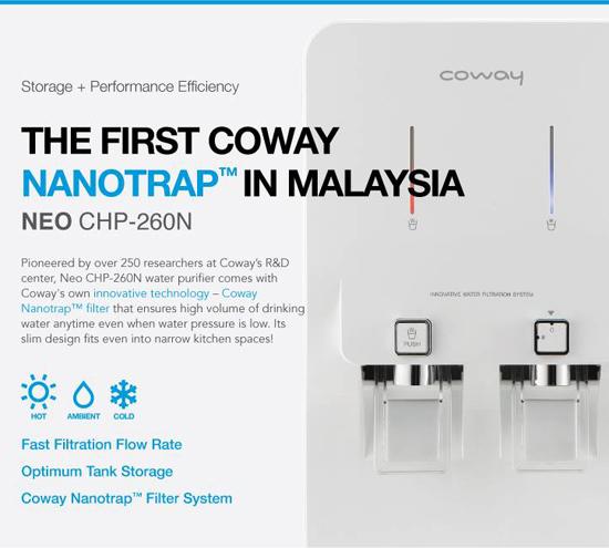 Produk Penapis Air Terbaik Nombor 1 - Coway