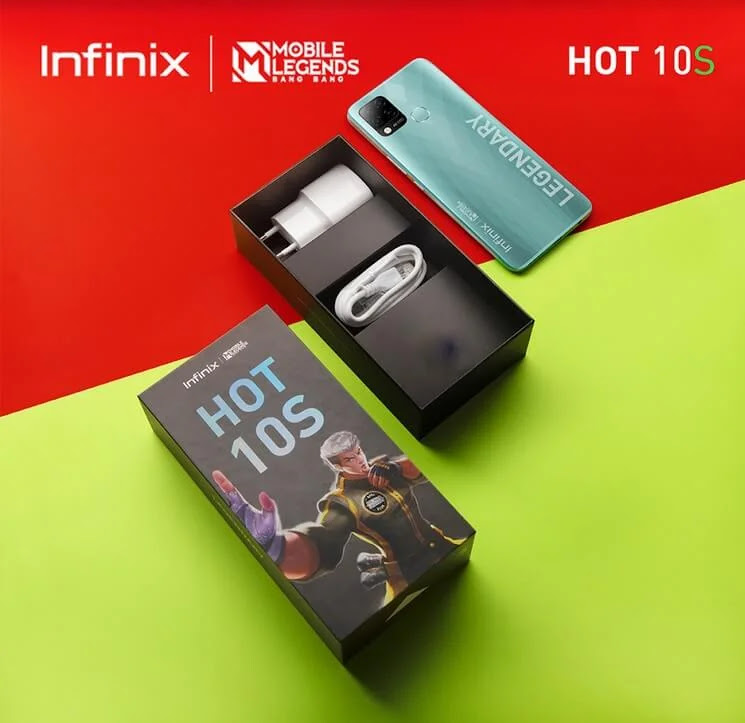 Infinix HOT 10S Mobile Legend Edition with Gaming Chip, 90Hz Display and 6,000 Battery Launches in PH for Only Php6,990