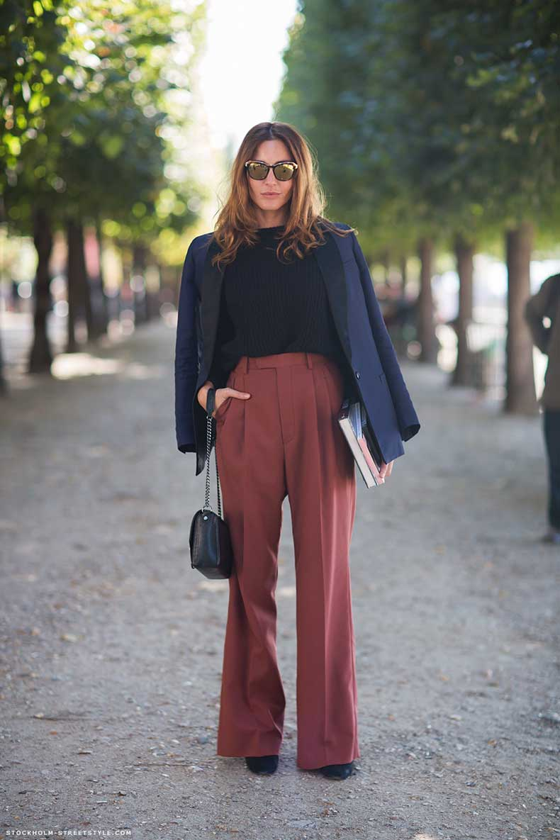 Pantalones Anchos Mujer 17 Hermosos Look Juveniles Moda Y Tendencias 2019 2020 Somosmoda Net