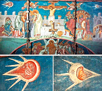 UFO Over Jesus' Head