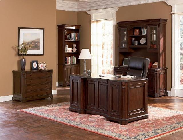 best buy solid wood home office furniture sets sale online