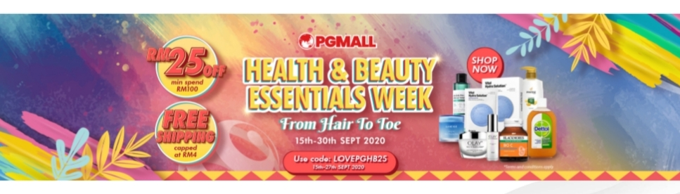 PG Mall health and beauty week