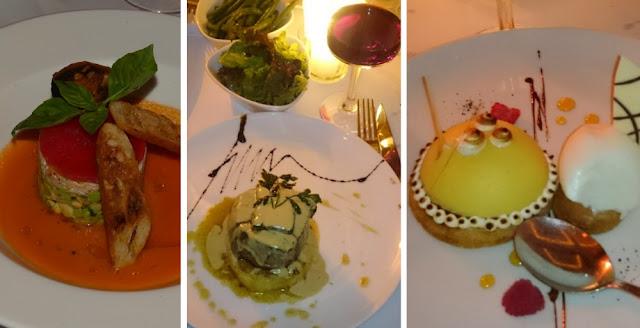 Französische Küche im Le Palace, Marrakesch