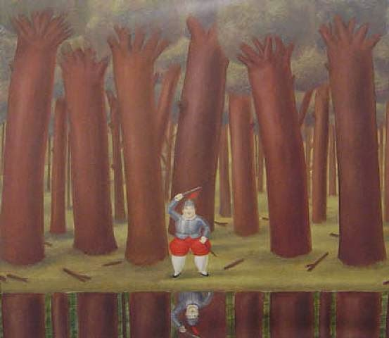 O Conquistador - Fernando Botero e suas pinturas ~ O pintor das figuras volumosas