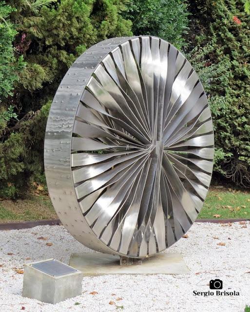 Close-up da Escultura Grande Mandala - MAB-FAAP - São Paulo