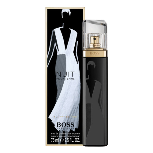 New Hugo Boss Nuit Pour Femme Runway Edition Eau De Parfum Spray
