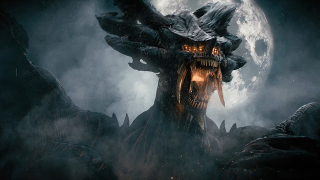 Archidemonio Dios Dragon Análisis de Demon's Souls