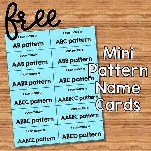 Make a Pattern Mini Cards