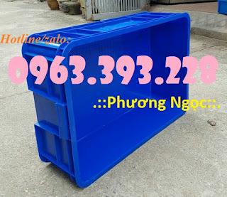 Thùng nhựa đặc HS003, thùng nhựa cao 19, thùng đặc chứa đồ Fbc783a8d95b3b05624a