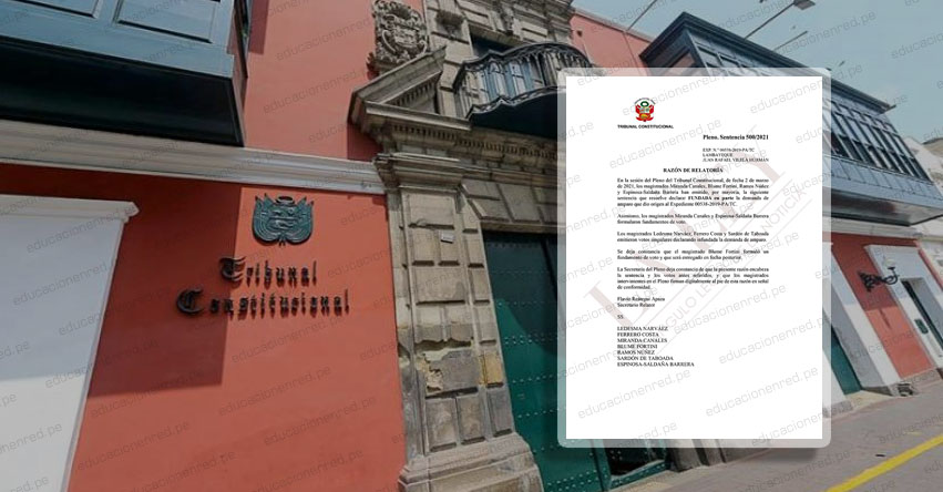 Retirar vacante de matrícula escolar por morosidad vulnera el derecho a la educación, según sentencia del Tribunal Constitucional