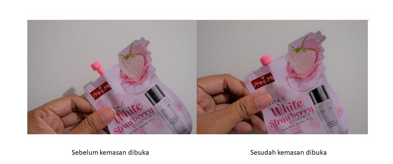 Shinjumi Vita C White Strawberry Essence