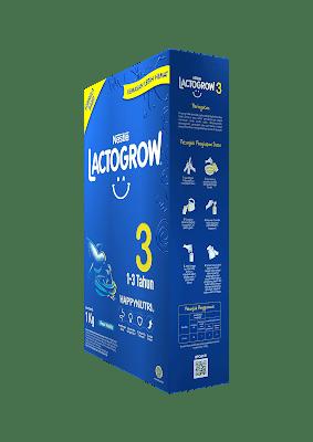 perbedaan lactogrow 3 plain dan madu
