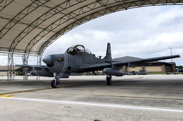 US Air Force graduates last class of Afghan A-29 Super Tucano student pilots