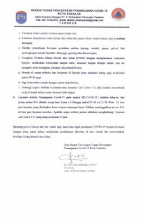 Press Release COVID-19 Tarakan 27 April 2020 - Tarakan Info