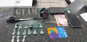 Guarda Municipal prende suspeito de tráfico de drogas em Chapadinha
