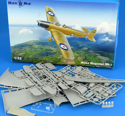 Review: 1/32nd scale Miles Magister Mk.14A from Mikro Mir