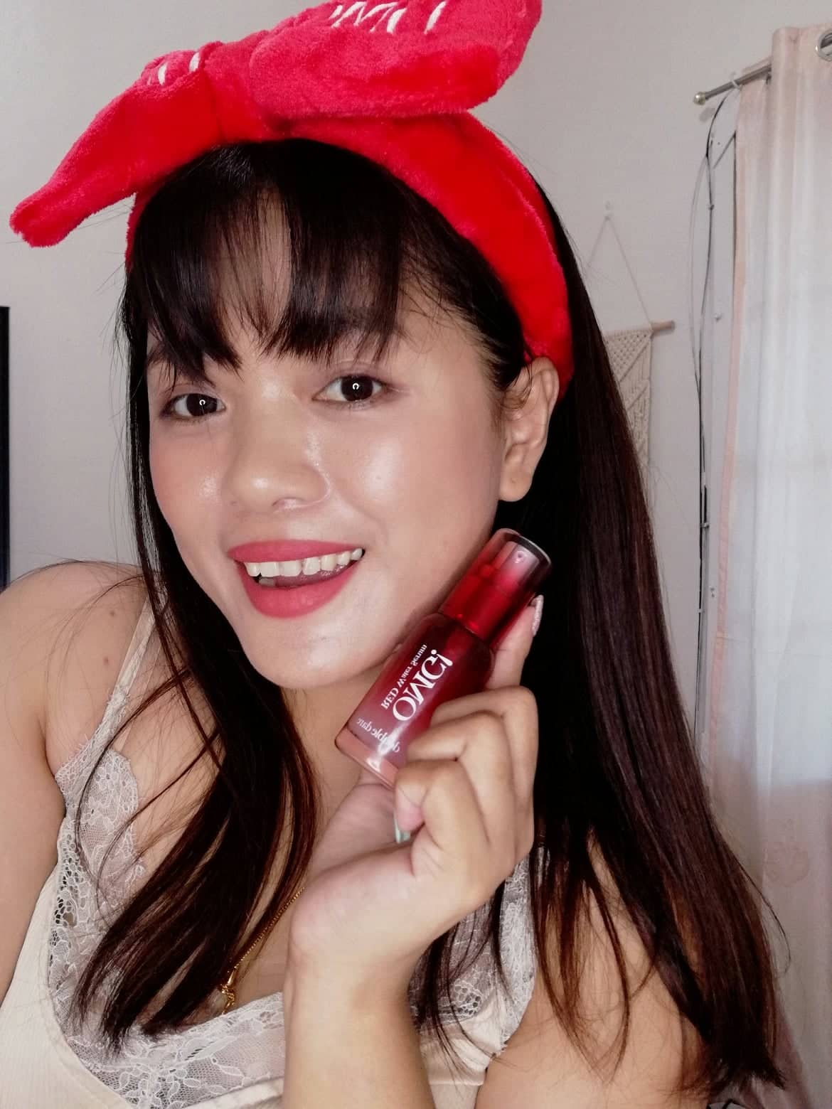 DOUBLE DARE: OMG! RED WATER SERUM AND RED MPR GLOW REVIEW