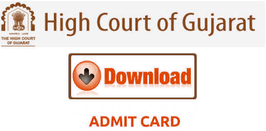 Gujarat High Court Admit Card Download Now For Civil Judge Exam