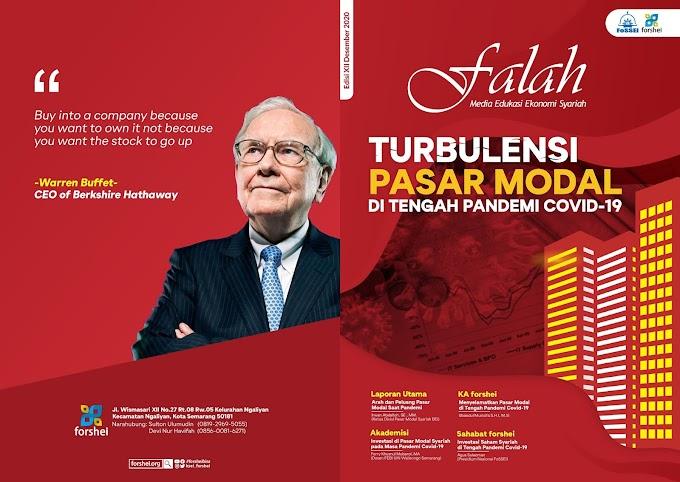 "Majalah Falah Edisi 12 ""Turbulensi Pasar Modal di Tengah Pandemi Covid 19"""