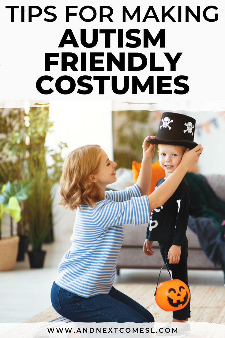 Autism & Halloween: tips on how to make autism and sensory friendly Halloween costumes for kids