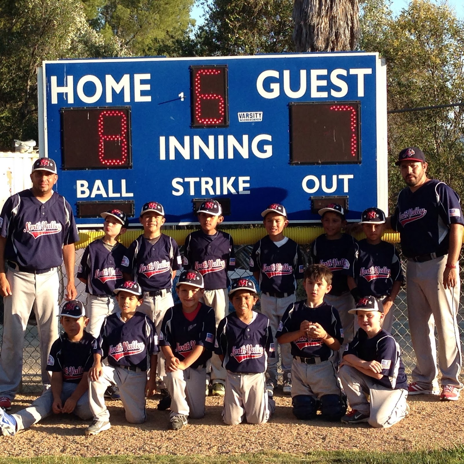 Pinto 7u Wins The Championship At Agoura North Valley Youth