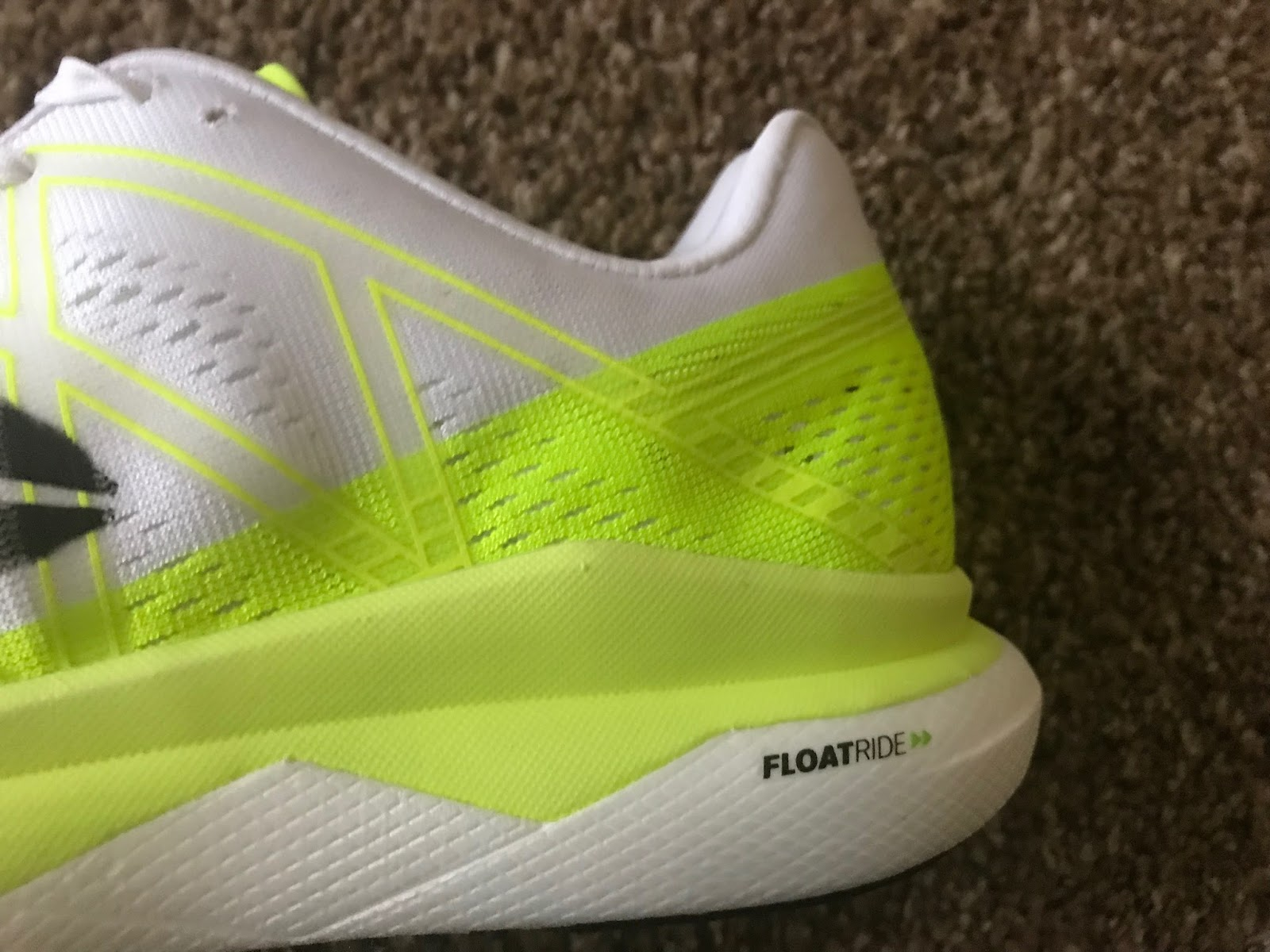 42ea8d728ce Derek  The midsole uses the same dual density Floatride tech that was seen  in the Floatride Run.