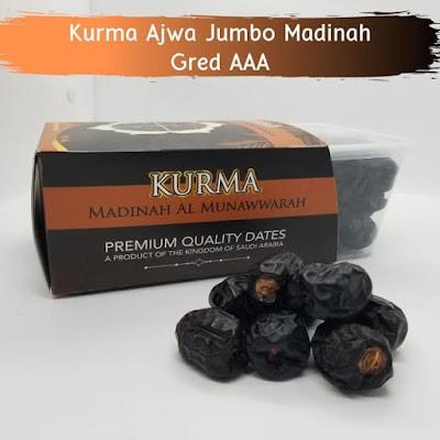 Kurma Ajwa Jumbo Madinah Gred AAA
