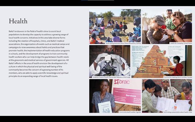 Проекты бахаи в области охраны здоровья