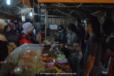 Kuliner lama Pasar Kangen