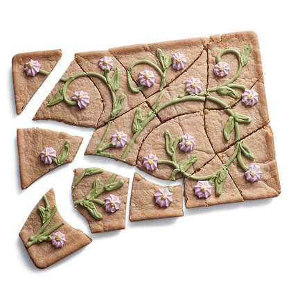 Spring Puzzle Cake Recipe