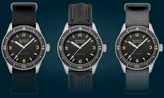 Blancpain Fifty Fathoms Bathyscaphe Limited Edition For Hodinkee