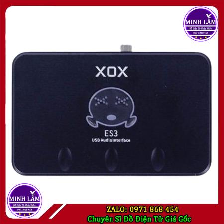 Sound card thu âm XOX ES3