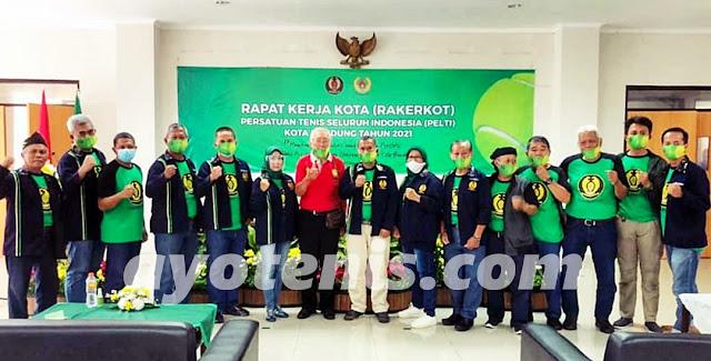 Pengkot PELTI Bandung Sukses Gelar Raker Tahun 2021