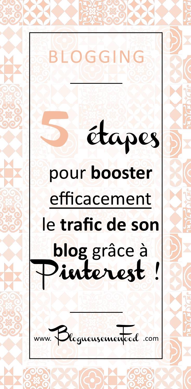 Booster le Trafic de son Blog grâce à Pinterest