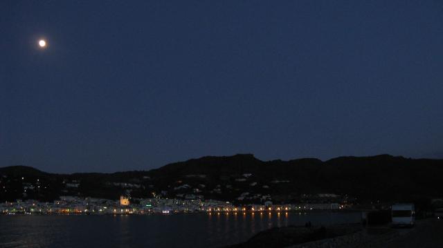 Port de la Selva, pernocta a la llum de la lluna