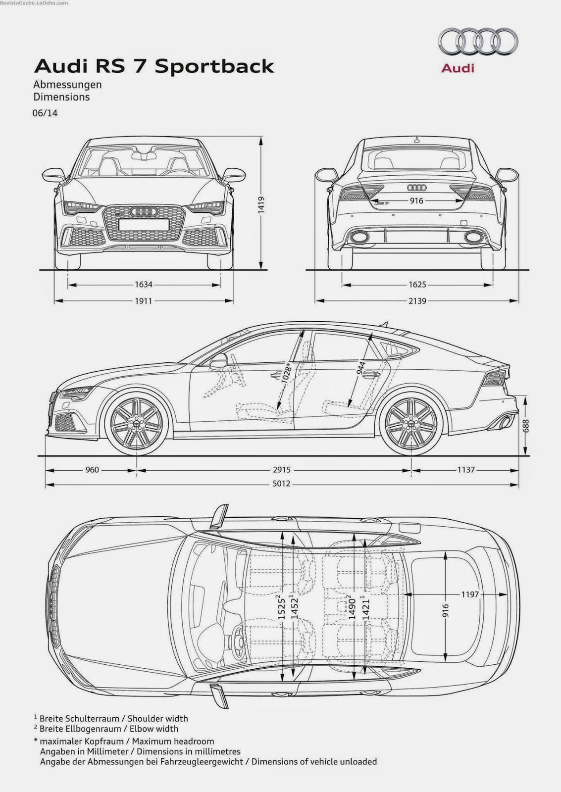 Revista Coche Nuevo Audi Rs 7 Sportback