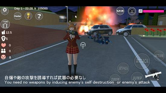 Descargar SAKURA School Simulator MOD APK 1.036.07 (Dinero ilimitado, Todo Desbloqueado) Gratis para Android 7