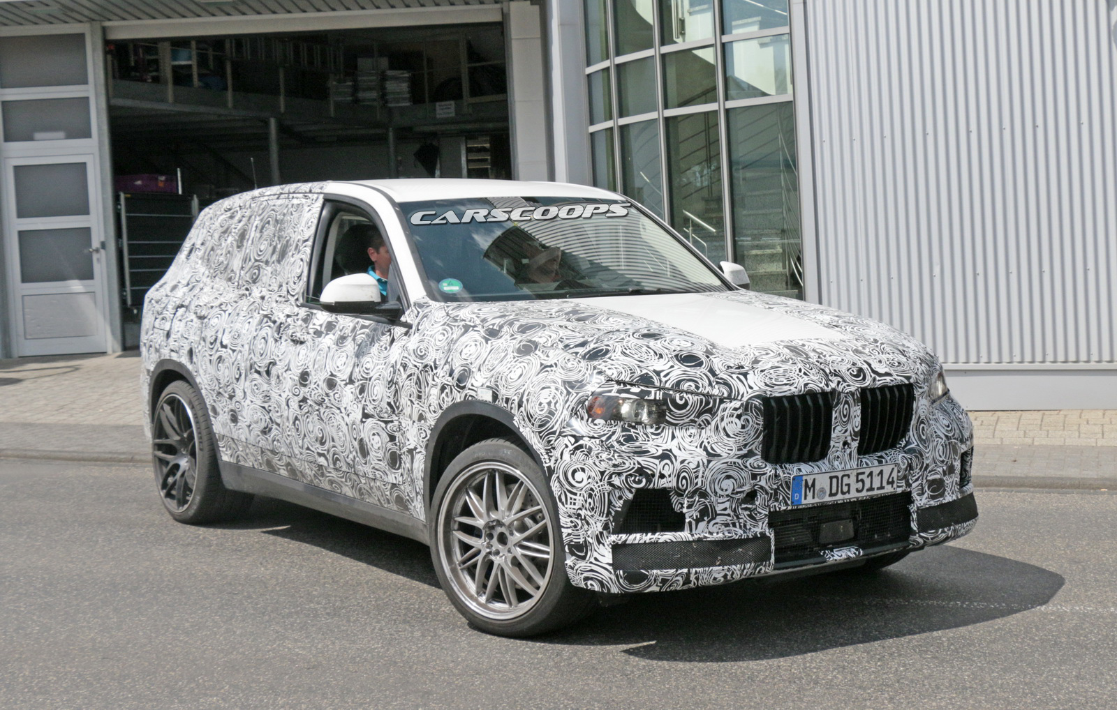Spied: 2019 BMW X5 M Coming Fast With 600 Horses | Carscoops