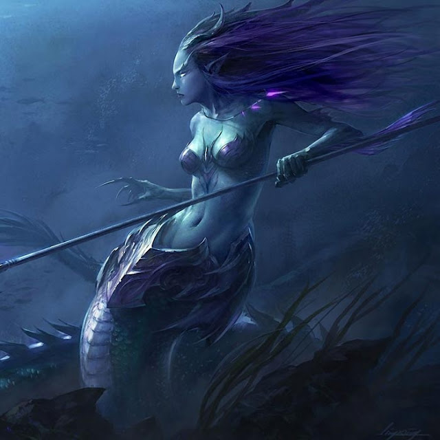 Mermaid Animated Wallpaper Engine